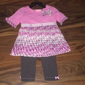 New without tags Little Lass outfit
